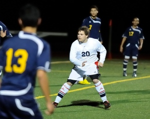 Justin Minor Dublin High School Varsity Soccer