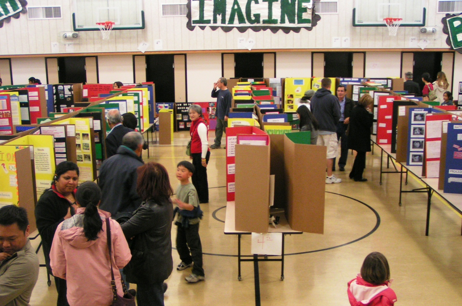 science fair project exploring careers in