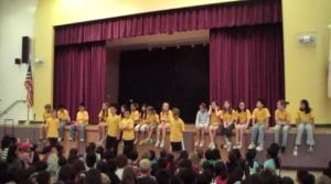 Positive Action Assembly at John Green Elementary School
