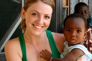 Kelsey Finnegan in Hohoe - Ghana - Africa 1