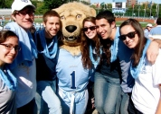 Columbia University - Roaree the Lion and Friends (I'm on the right)