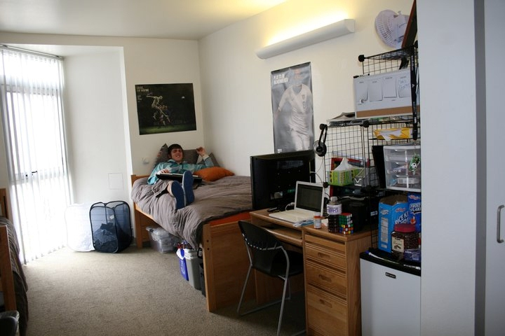 Jamie Somerville In His UC San Diego Dorm Room OneDublinorg
