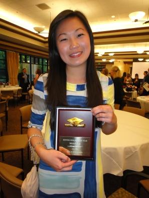 Dublin High School Class of 2011 Valedictorian Michelle Lee