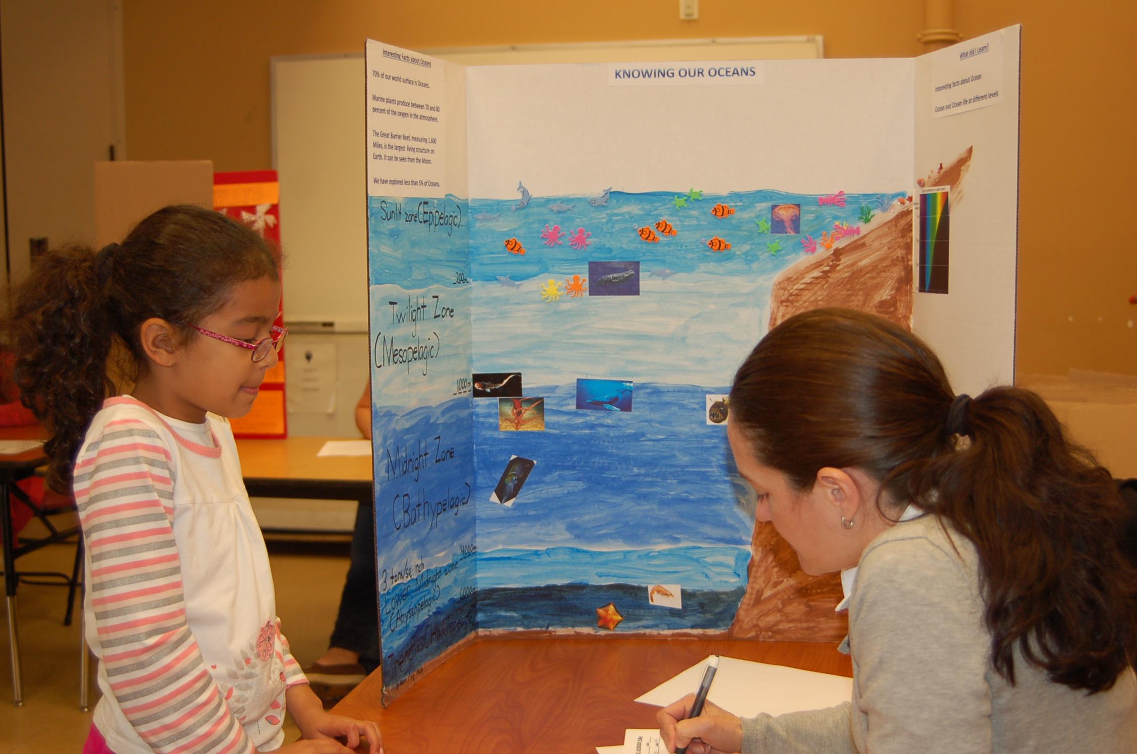 Green Elementary School Science Fair Inspires Student ...