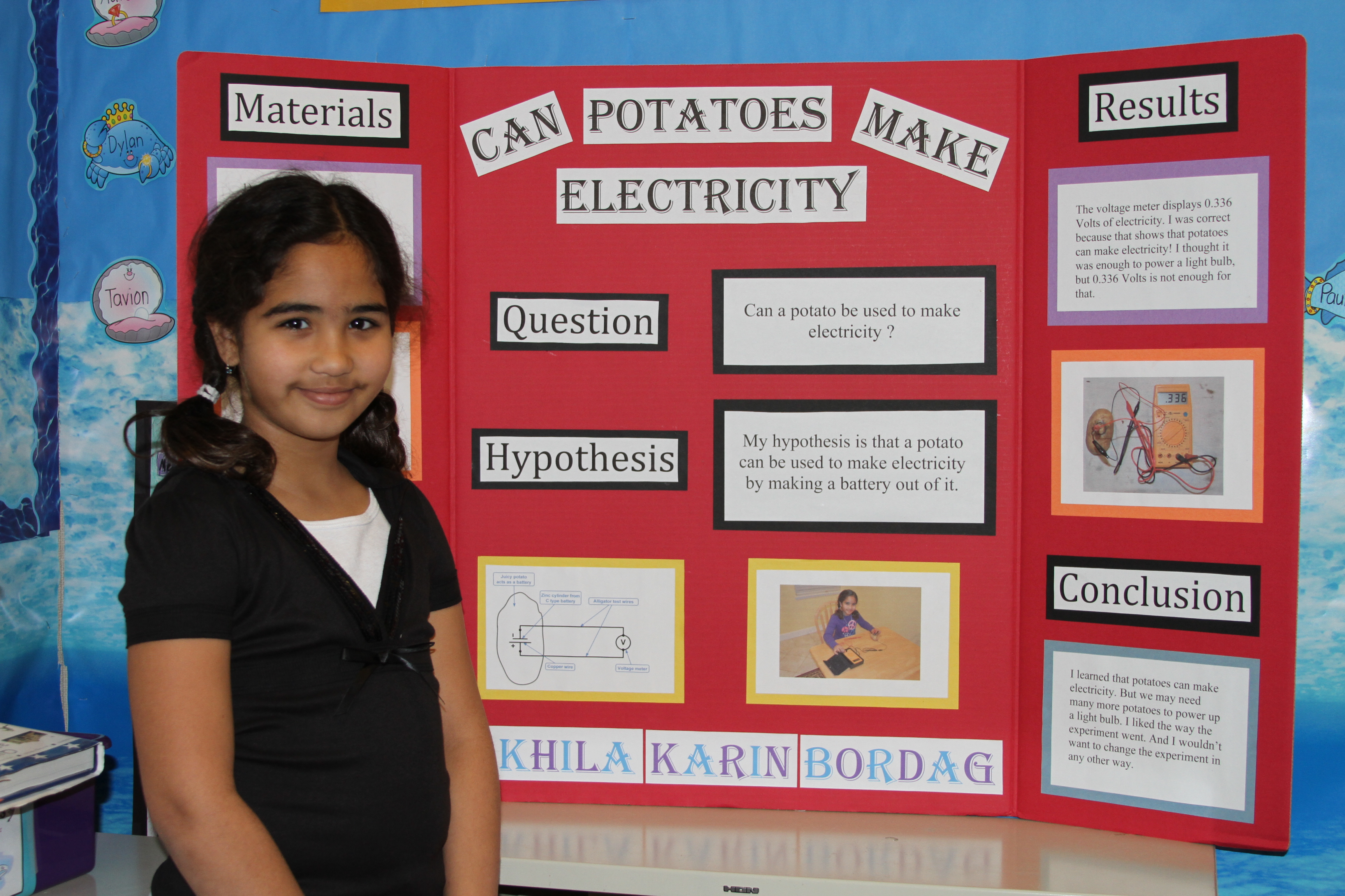 science fair projects about food