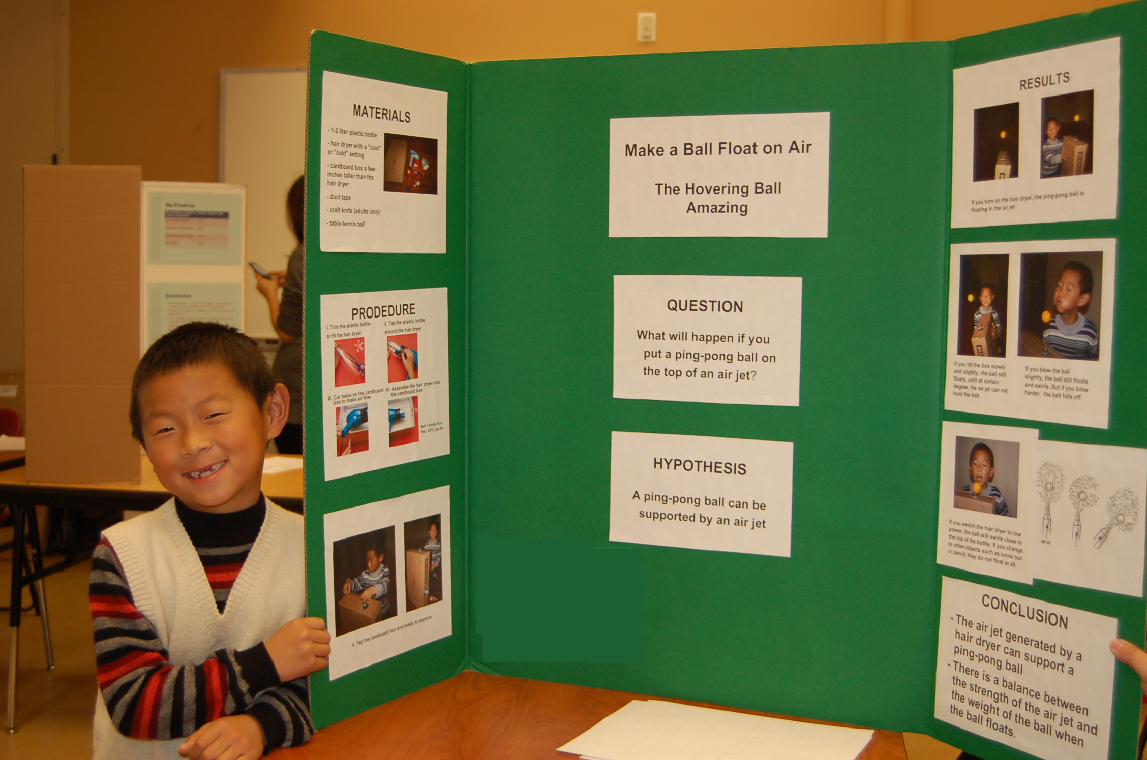 Green Elementary School Science Fair Inspires Student ...