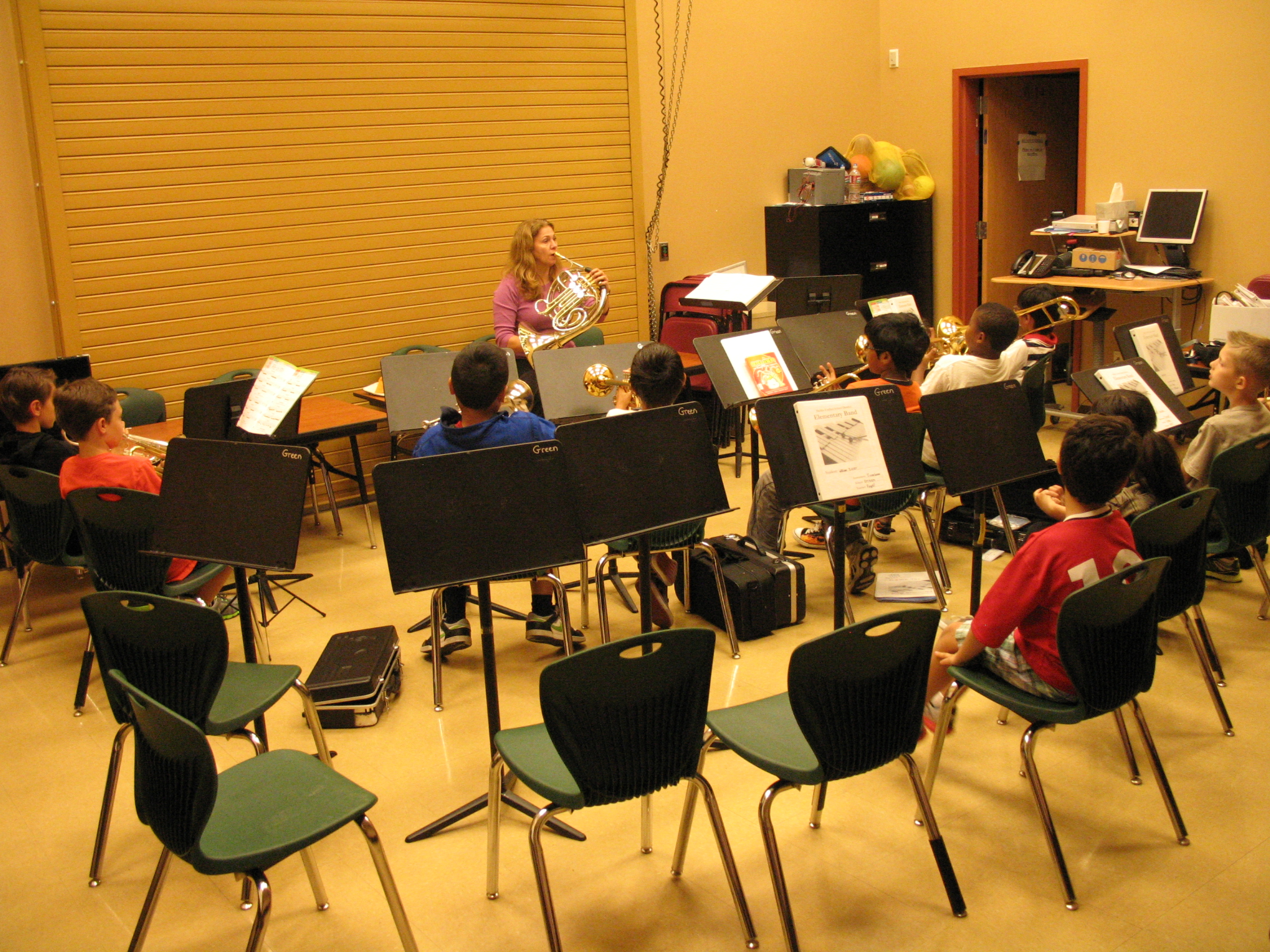 Dublin s elementary band program prospers and develops for Schoolhouse music