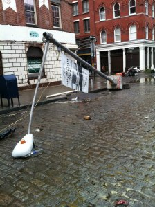 Damage in NYC (Chris Harral)