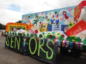 DHS Class of 2013 Homecoming Float