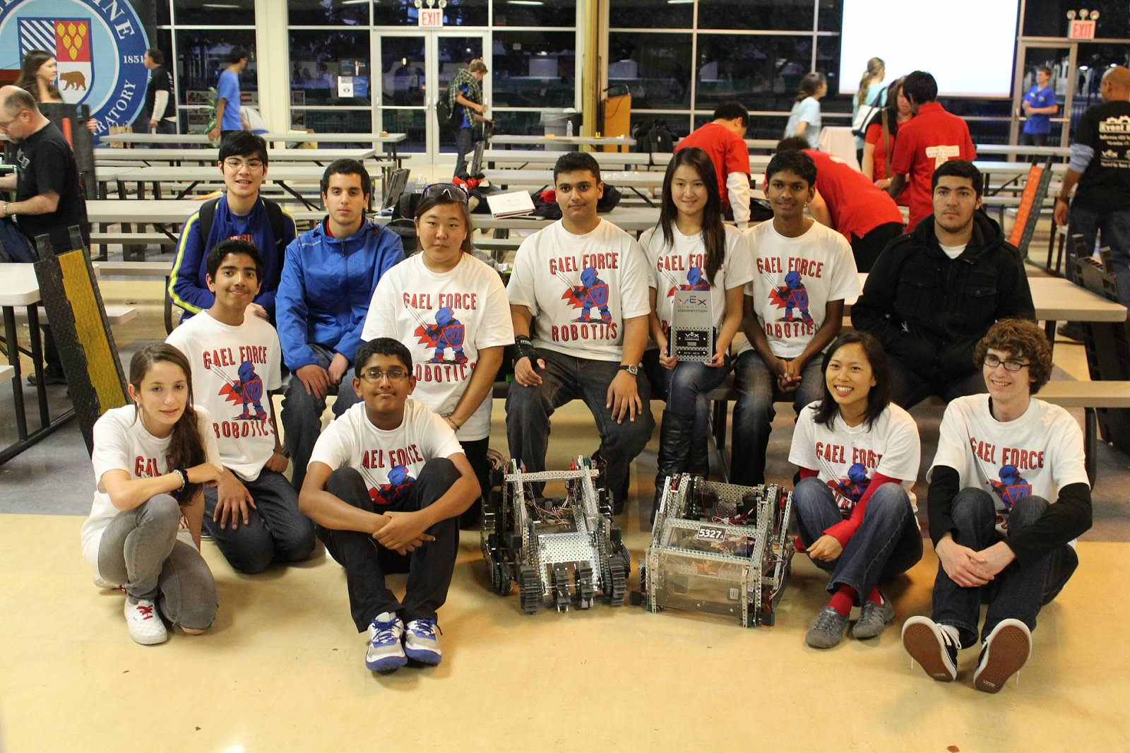 Dublin High School Robotics Team Win Qualifies For 2013 Vex World