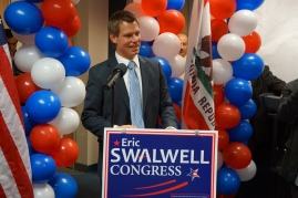Eric Swalwell Speaks to Supporters on Election Night 2012