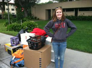 Santa Clara University Freshman and Dublin High School Graduate Annie McDonald