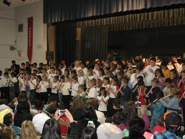 Dublin Elementary School Students Perform - 2
