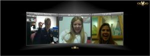 Dublin High School College Freshman Stay Connected via Oovoo