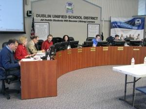Dublin Unified School District Board of Trustees