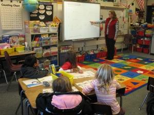 Frederiksen Elementary School Classroom