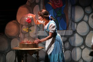 Joy Sherratt in Disney's Beauty and the Beast - Pacific Coast Repertory Theatre production 1