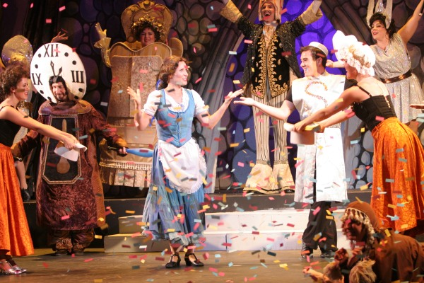 Joy Sherratt in Disney's Beauty and the Beast - Pacific Coast Repertory Theatre production 2