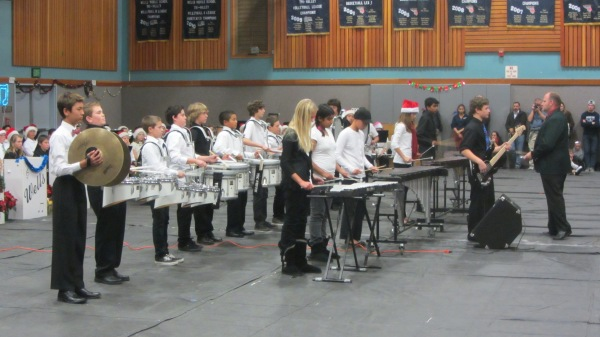 Wells Middle School Drum Line