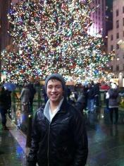 Chris Harral in New York City