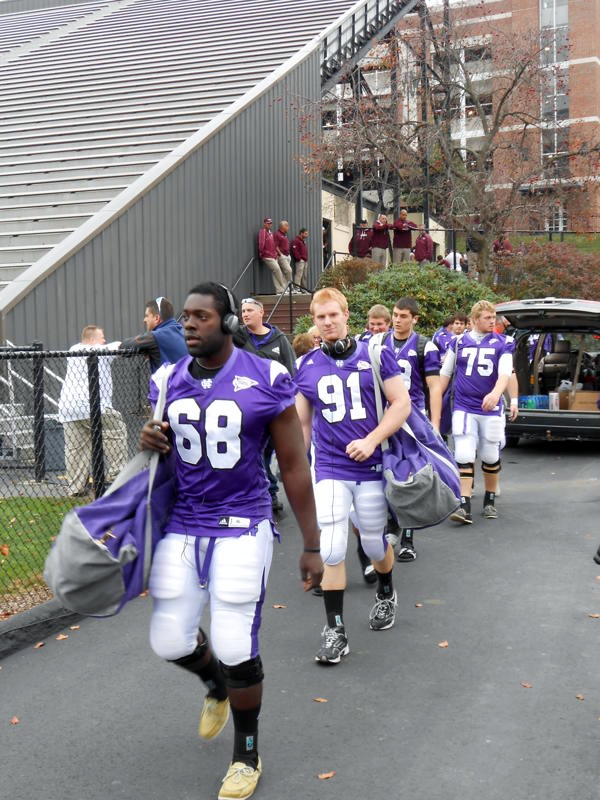 Clint Jackman - Holy Cross Homecoming Game 2012