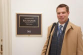 Eric Swalwell Outside his Office