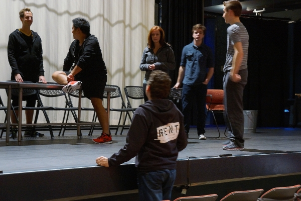 Rent Rehearsal - Pacific Coast Repertory Theatre - Firehouse Arts Center 8