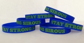 Stay Strong Sirous Wristband Fundraiser