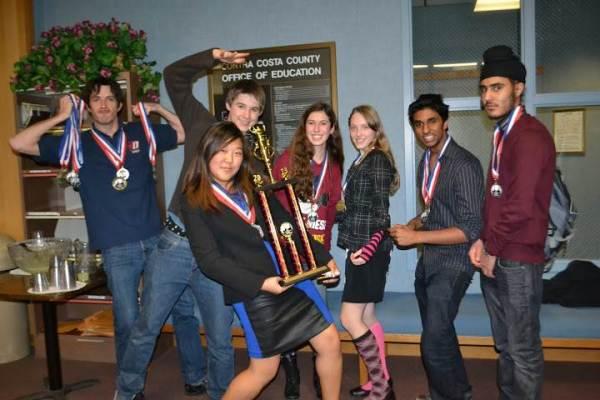 Dublin High School Academic Decathlon Winning Team
