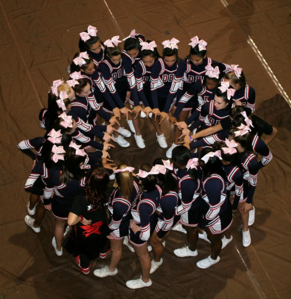 Dublin High School Cheer Team