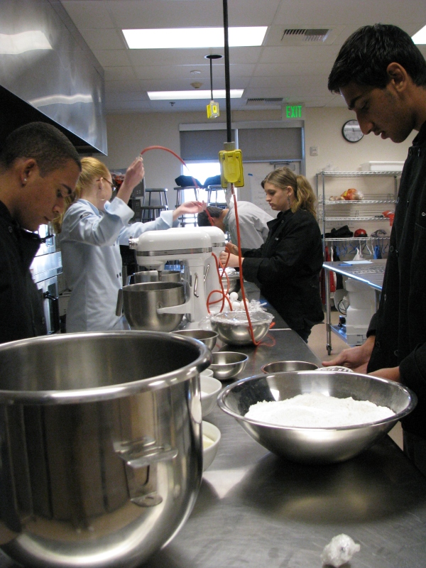 Dublin High School Culinary Arts Students in Action