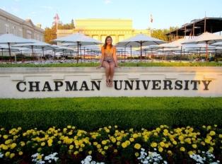 Dublin High School Graduate Katelyn Haubert at Chapman University
