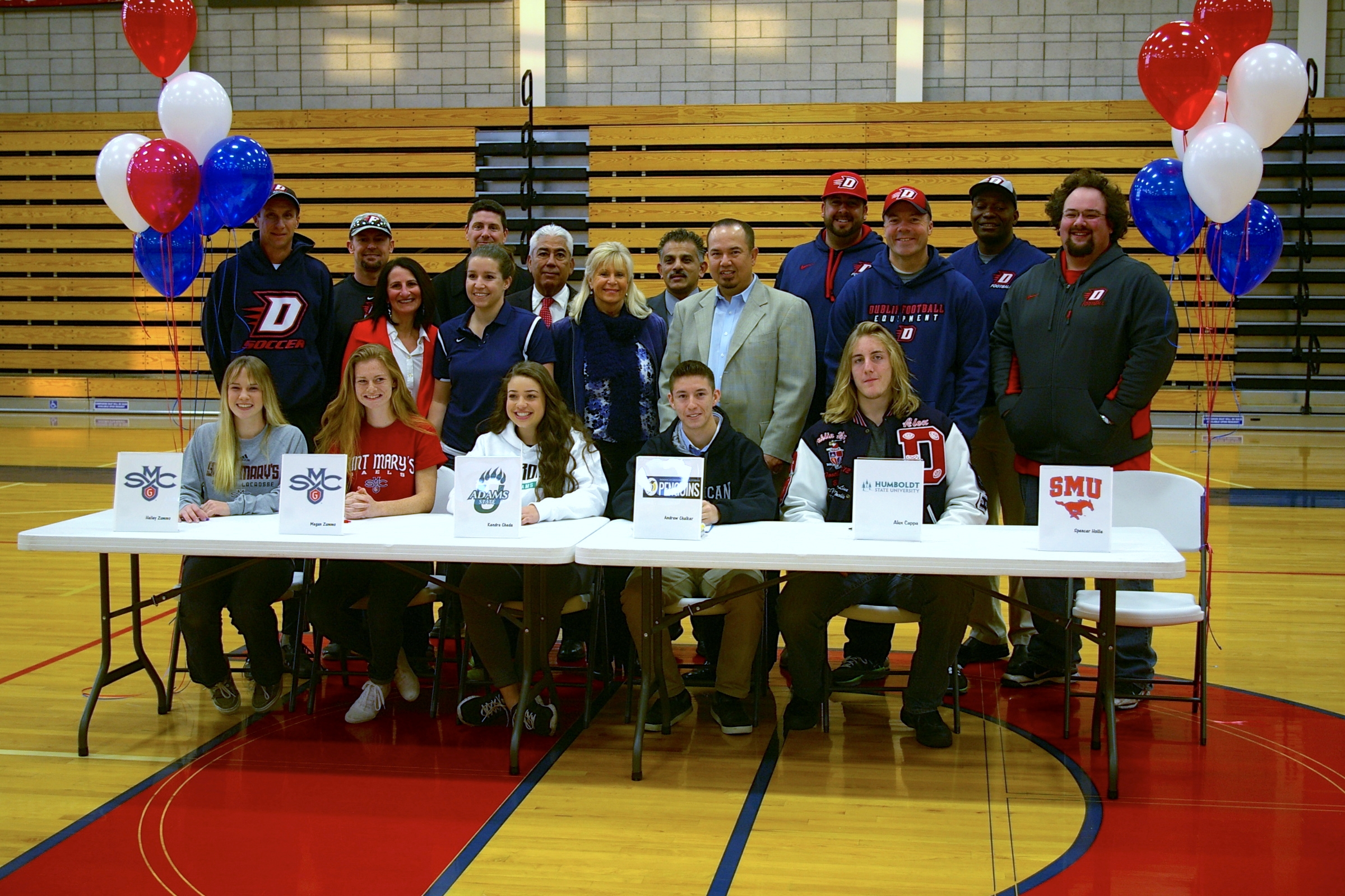 College Bound Dublin High School Student-Athletes Reflect ...