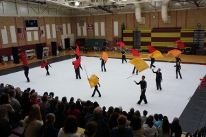 Dublin High School Winter Color Guard