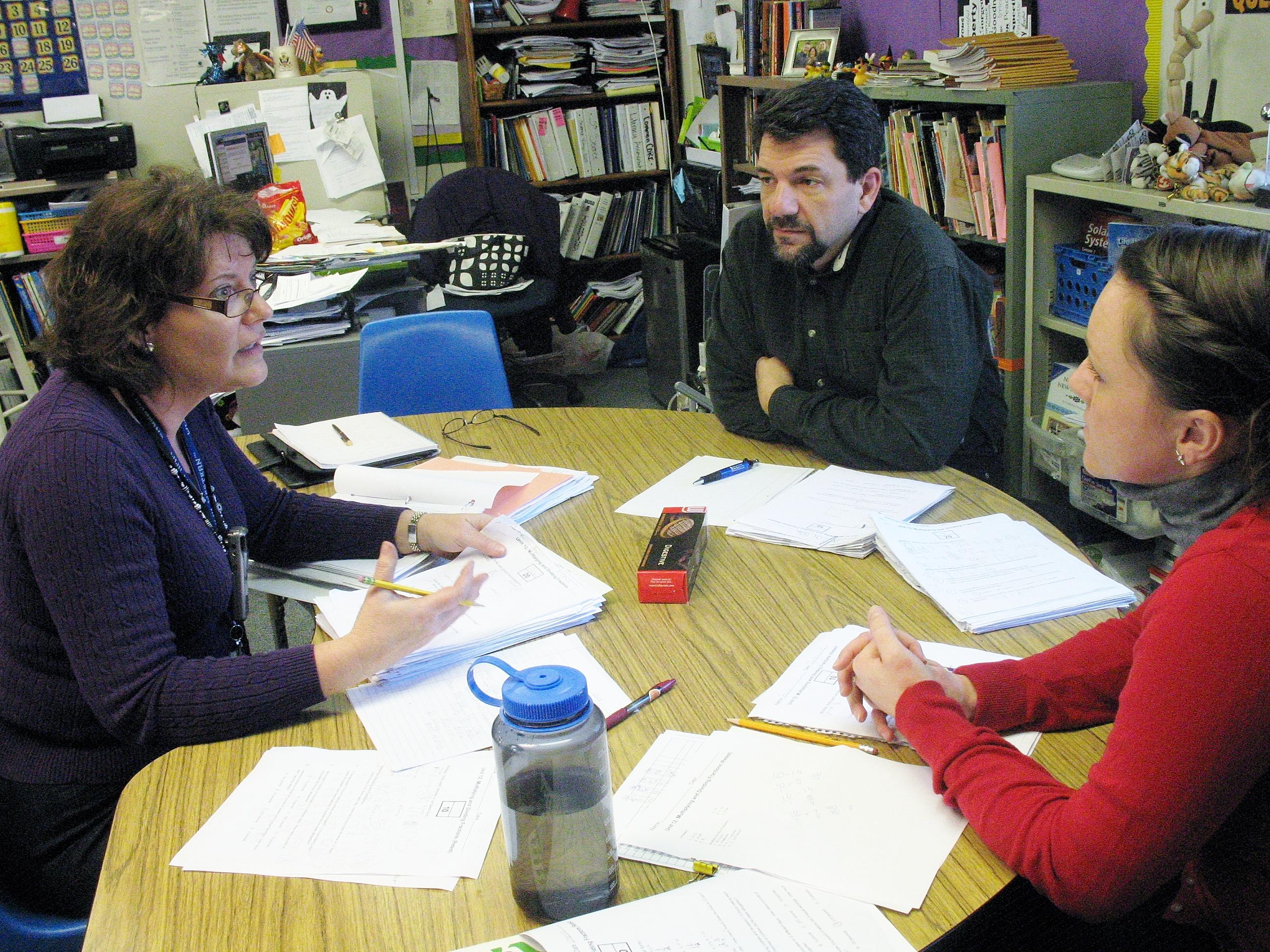 Collaborative Teaching High School ~ Collaboration days provide enrichment for dublin teachers