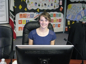 Dublin Unified School District Student Representative Alexandra Brown