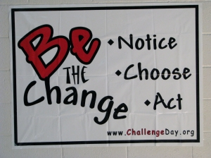 Valley High School Challenge Day Poster 1