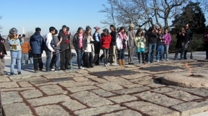 Wells Middle School Trip to Arlington National Cemetery JFK Grave