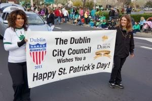 City of Dublin St Patricks Day Parade 2013