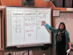 Dublin Elementary School Family Math Night 2