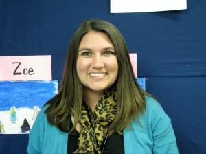 Dublin Elementary School Teacher Krystal Shaw