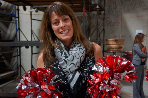 Dublin High School Cheer Coach Kristine Cousins