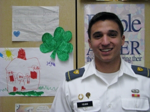 Dublin High School Class of 2011 Graduate and West Point Cadet Ben Young