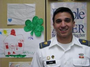 Dublin High School Class of 2011 Graduate and West Point Cadet Ben Young