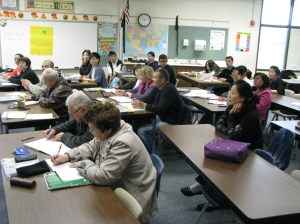 Dublin Unified School District Adult Education Classroom 1