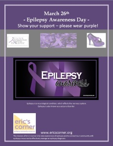 National Day March 26 Epilepsy Awareness