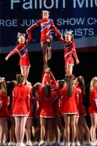 Fallon Middle School Cheer Team 1