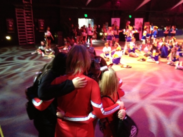Fallon Middle School Cheer Team