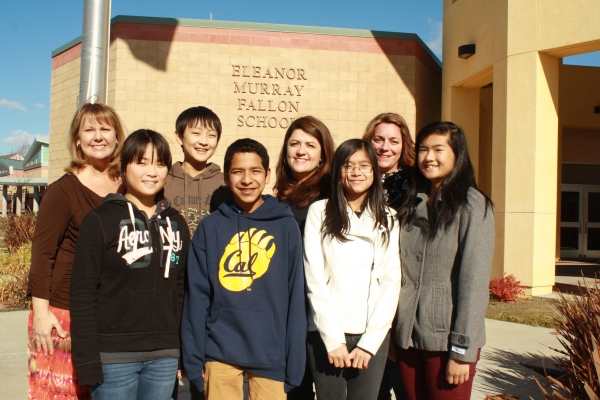 Fallon Middle School CJSF Advisors and Officers