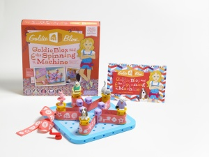 GoldieBlox and the Spinning Machine Construction Toy for Girls 1